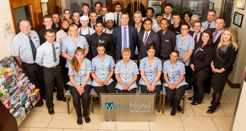 Staff at Metro Hotel Dublin Airport